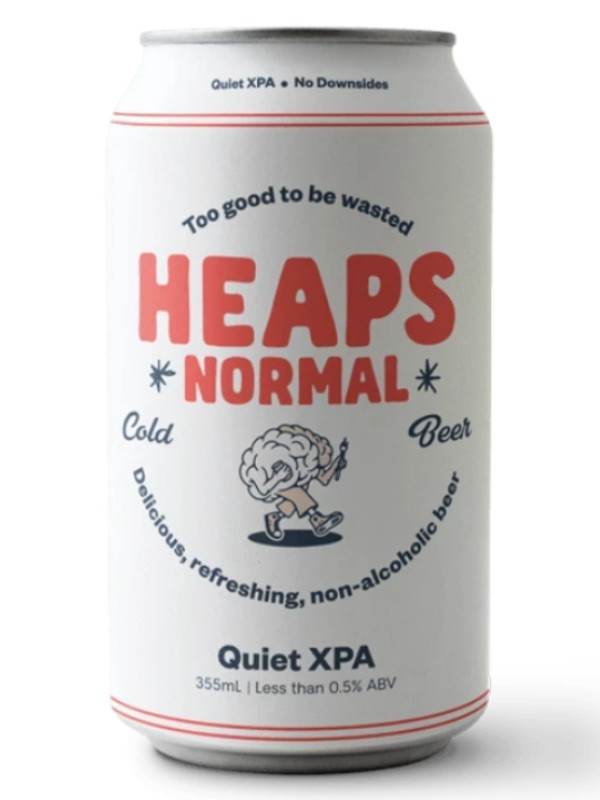Quiet XPA craft beer from Heaps Normal brewing.